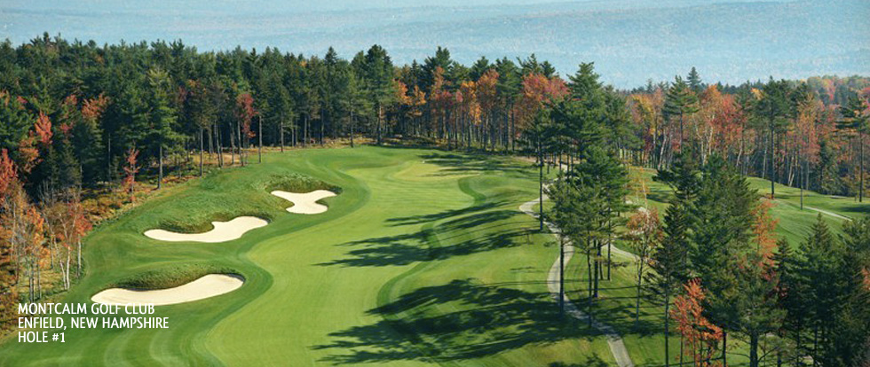 golf course design NH
